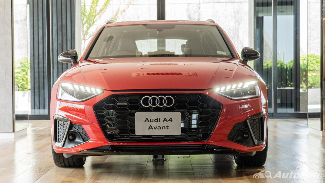 2020 Audi A4 Avant 2.0 45 TFSI Quattro S Line Black Edition Exterior 121