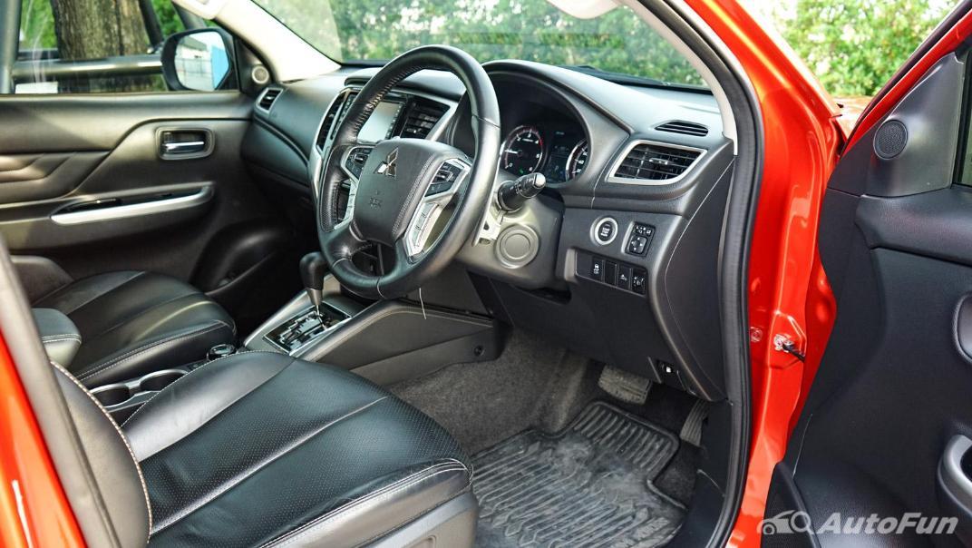 2020 Mitsubishi Triton Double Cab 4WD 2.4 GT Premium 6AT Interior 028