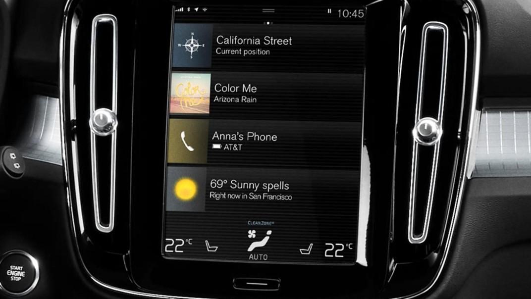 Volvo XC 40 2020 Interior 011