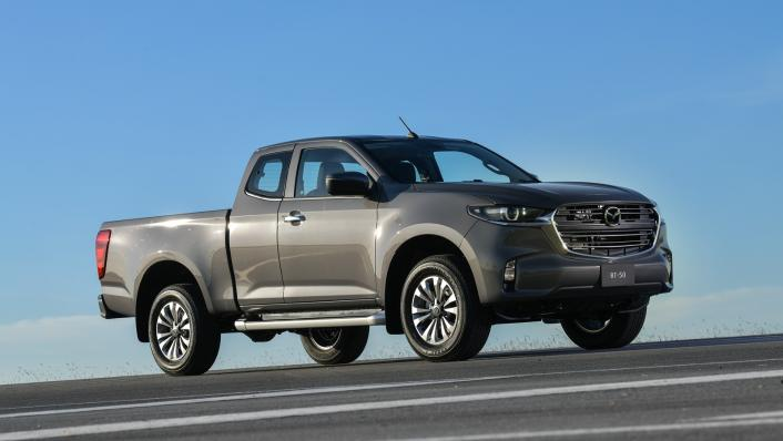 2021 Mazda BT-50 Freestyle cab Upcoming Version Exterior 004