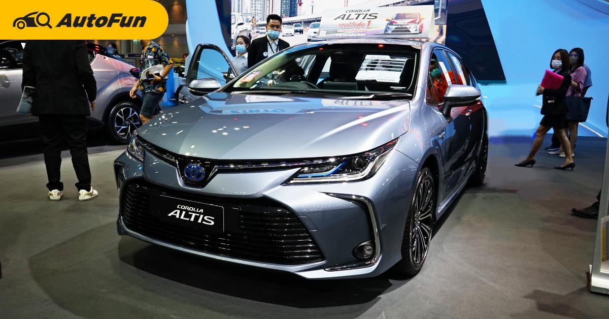 Toyota Corolla Altis เราว่าน่าใช้กว่า Corolla Cross ถ้าไม่ติดภาพว่าเป็นรถแท็กซี่นะ 01