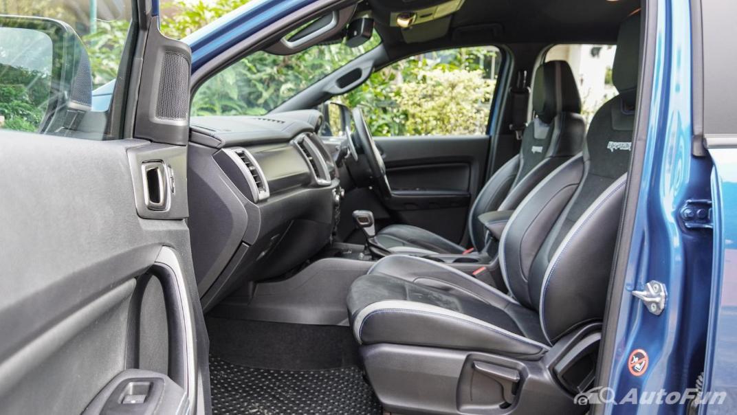 Ford Ranger Raptor 2.0L EcoBlue Interior 046