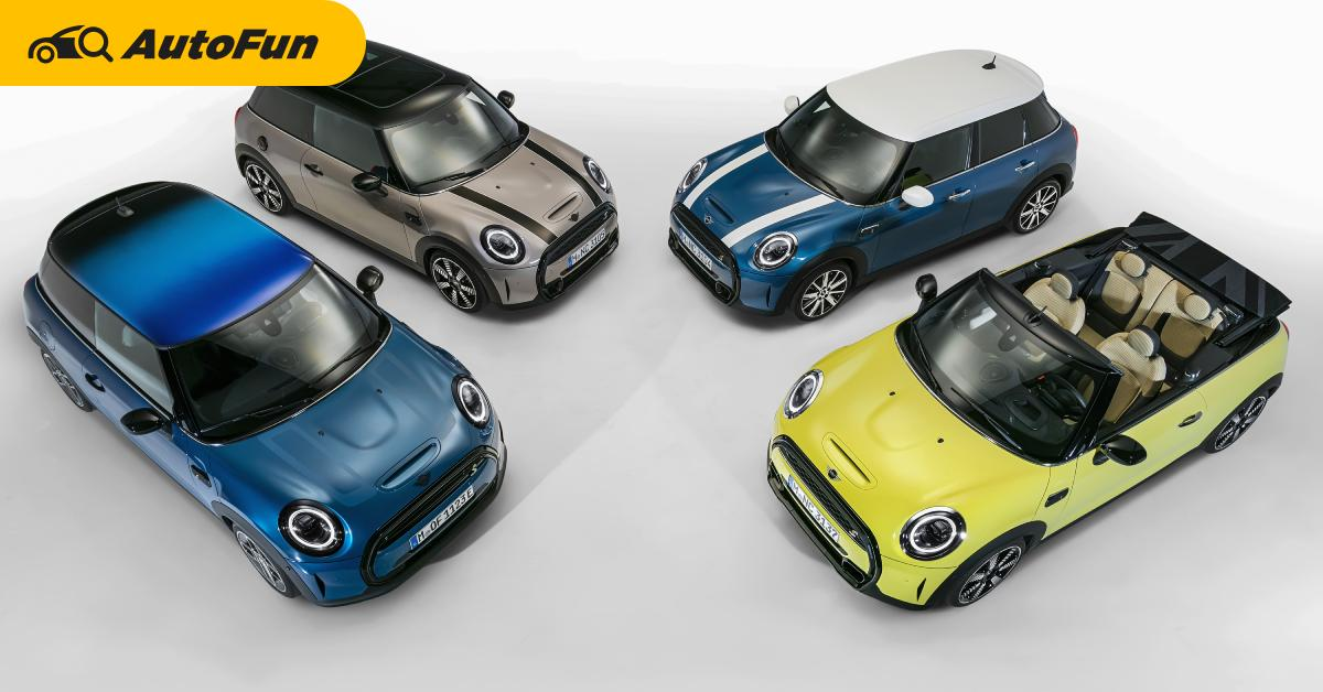 2021 The New Mini โฉมไมเนอร์เชนจ์ใหม่ทั้งตระกูล เปิดขายไทยแล้ว มีไฟฟ้าล้วนราคา 2.29 ล้านบาท 01