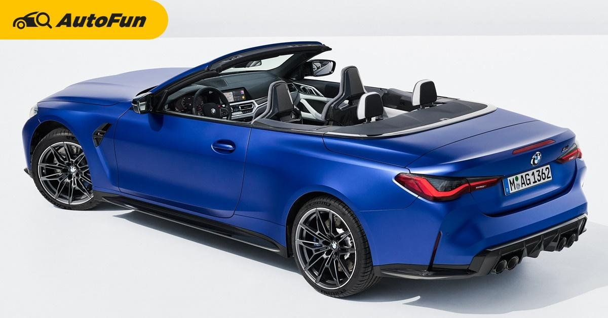 2022 BMW M4 Competition Convertible เปิดประทุนตัวแรง 510 แรงม้า 650 นิวตันเมตร พร้อมให้จองปีนี้ 01