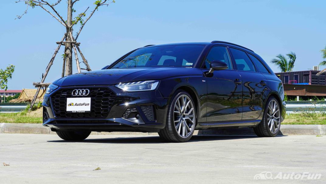 2020 Audi A4 Avant 2.0 45 TFSI Quattro S Line Black Edition Exterior 001