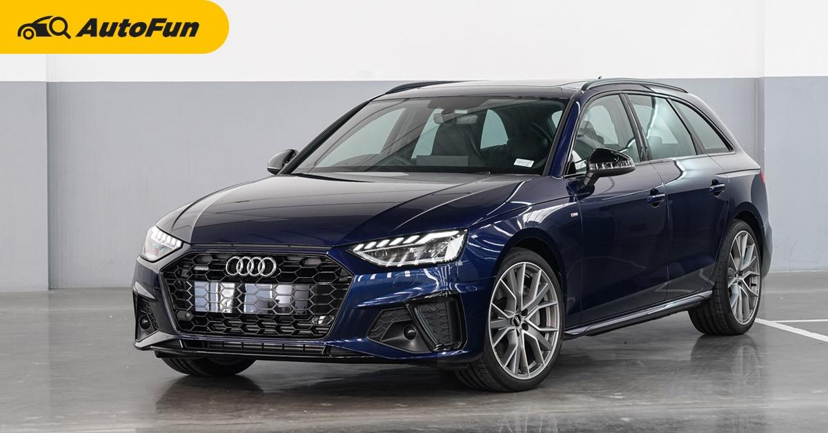 2020 Audi A4 Avant เครื่องยนต์ไมล์ดไฮบริด 249 แรงม้า เปิดตัวในไทยแล้ว ทำราคาสวย 3.399 ล้านบาท 01