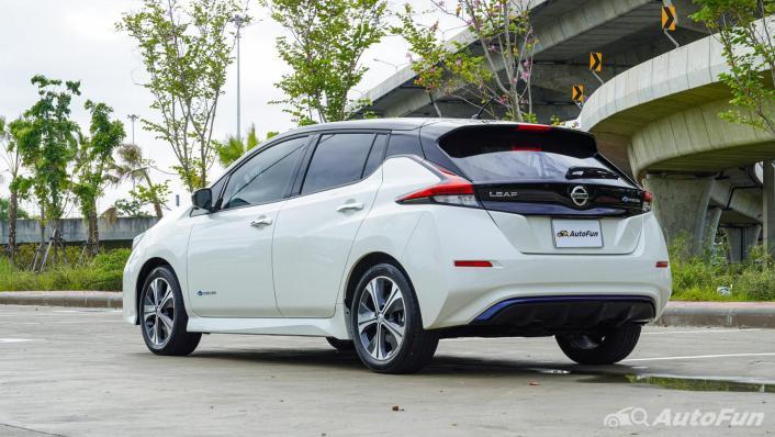 2020 Nissan Leaf Electric Exterior 006