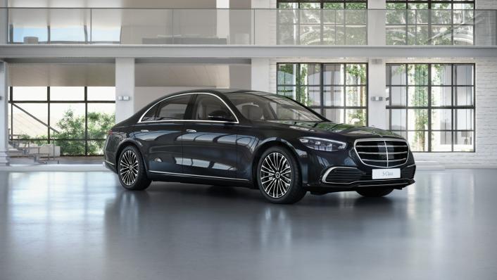 2021 Mercedes-Benz S-Class S 350 d Exclusive Exterior 003