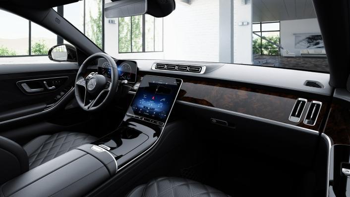 2021 Mercedes-Benz S-Class S 350 d Exclusive Interior 007
