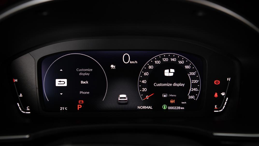 2022 Honda Civic RS Interior 023