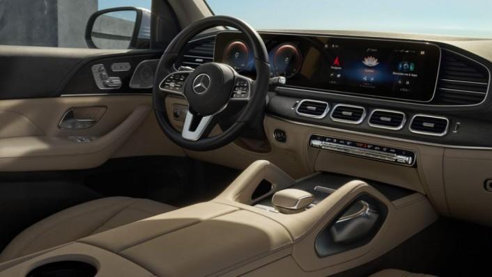 Mercedes-Benz GLS-Class 2020 Interior 010
