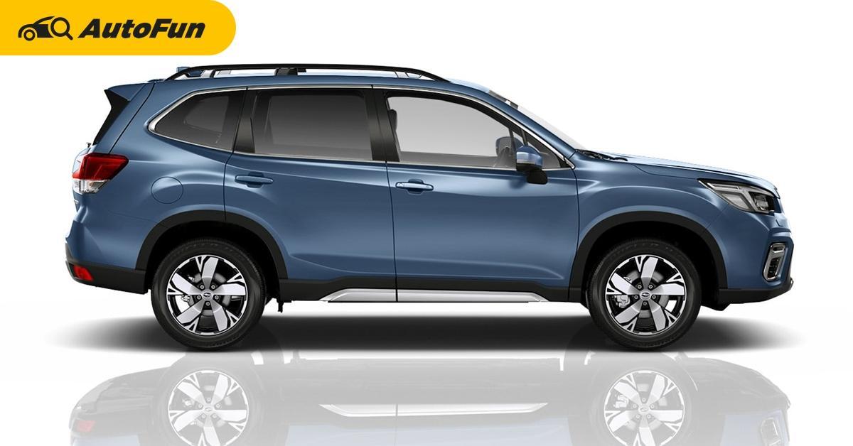 5 ข้อดีที่ทำให้คุณสนใจ All-New 2019 Subaru Forester 01