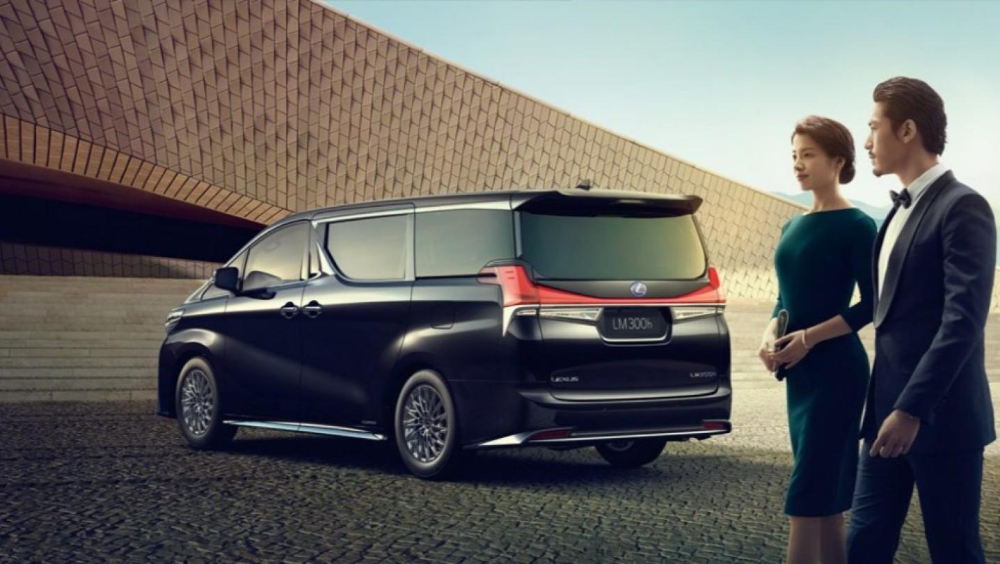 Lexus LM 2020 Exterior 004