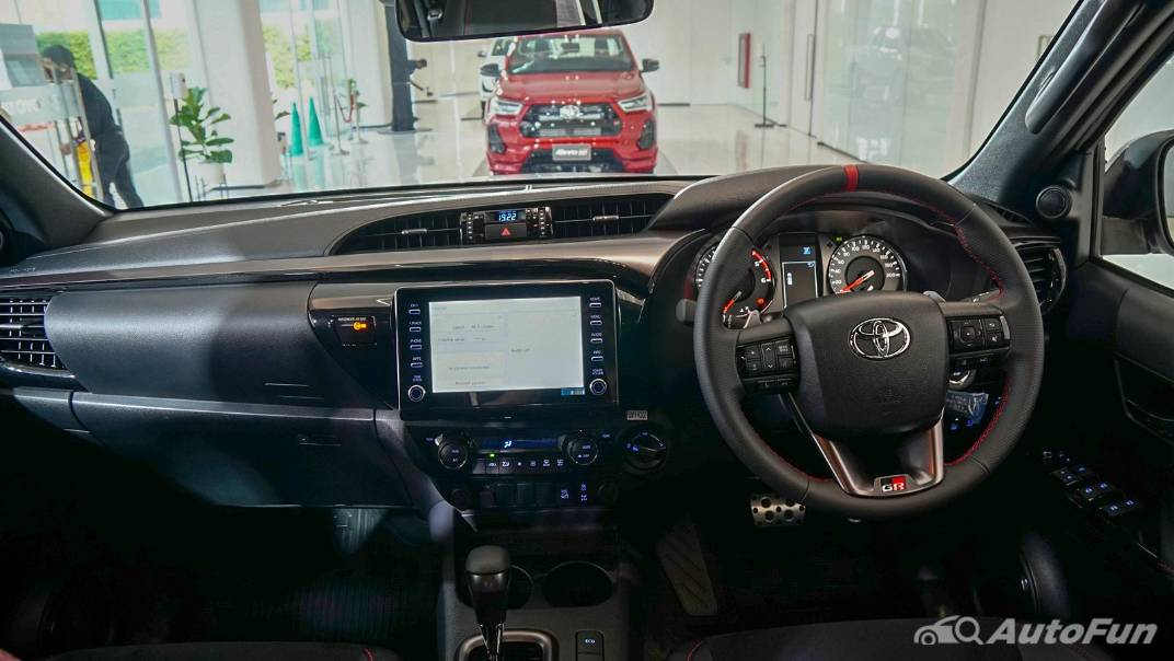 2021 Toyota Hilux Revo Double Cab 4x4 2.8 GR Sport AT Interior 001