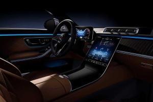 เปิดภาพจริง 2021 Mercedes-Benz S-class สุดปังกับเบาะหลัง และทัชสกรีนรอบคัน