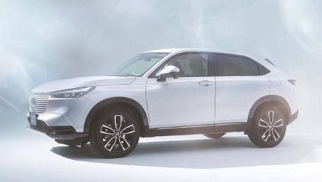 2021 Honda HR-V Upcoming Version ราคารถ, รีวิว, สเปค, รูปภาพรถในประเทศไทย   AutoFun