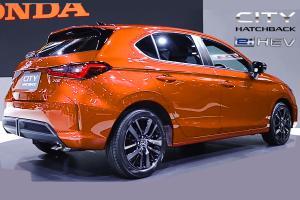 2021 Honda City Hatchback e:HEV คาดราคา 849,000 บาท ใส่แบตแล้วเบาะพับได้หรือไม่ ? พรุ่งนี้รู้กัน
