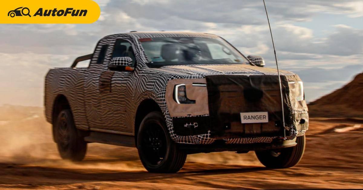 Ford Ranger ไฟฟ้าจะมาแน่นอน แต่ตอนนี้ขอเป็นไฮบริดไปก่อน 01