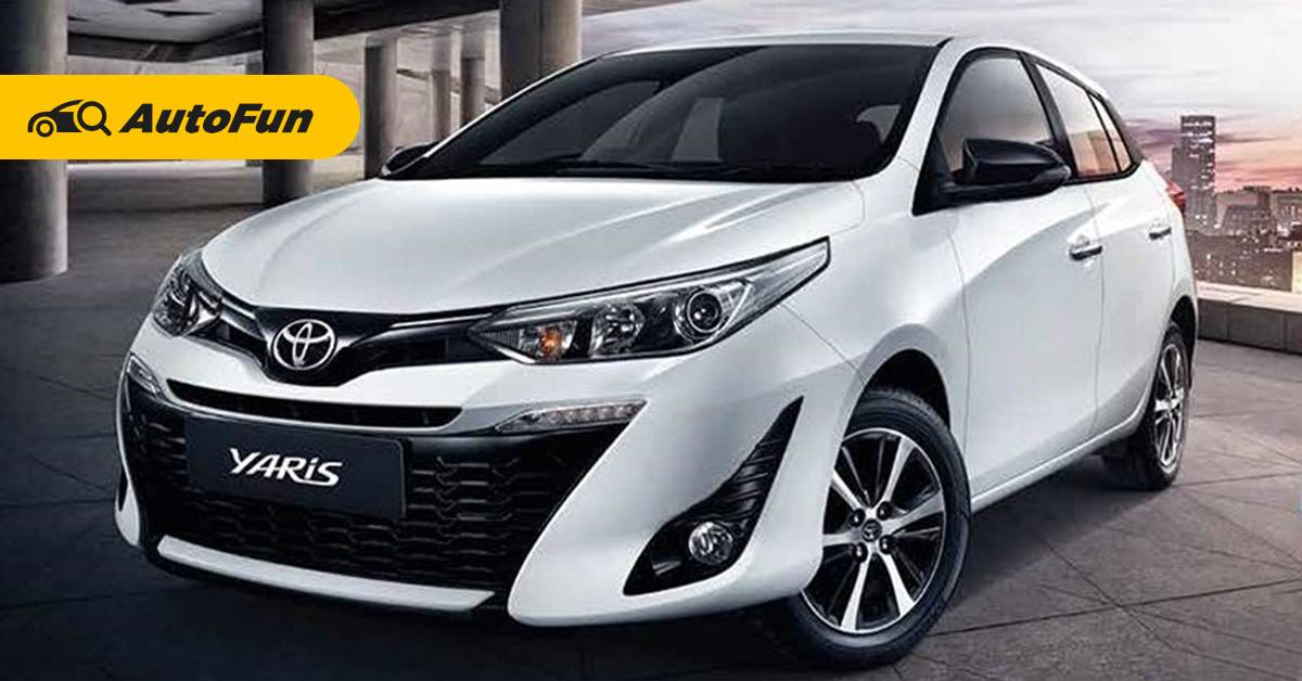 Toyota Yaris โตโยต้า ยาริส