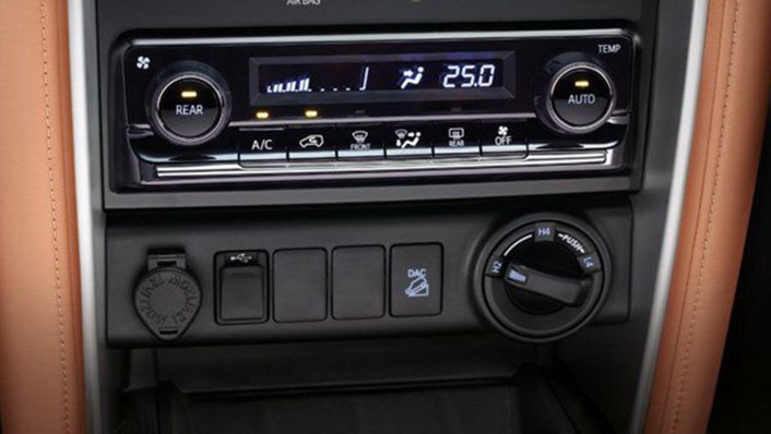 Toyota Fortuner Public 2020 Interior 008