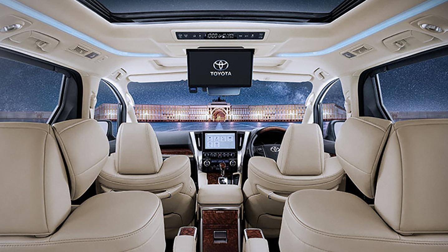Toyota Alphard 2020 Interior 015