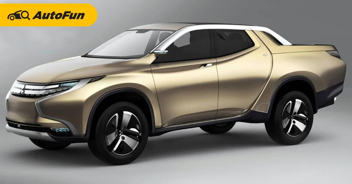 2023 Mitsubishi Triton PHEV หวังเขี่ยผู้นำตลาดรถกระบะด้วยขุมพลังปลั๊กอินไฮบริด 01