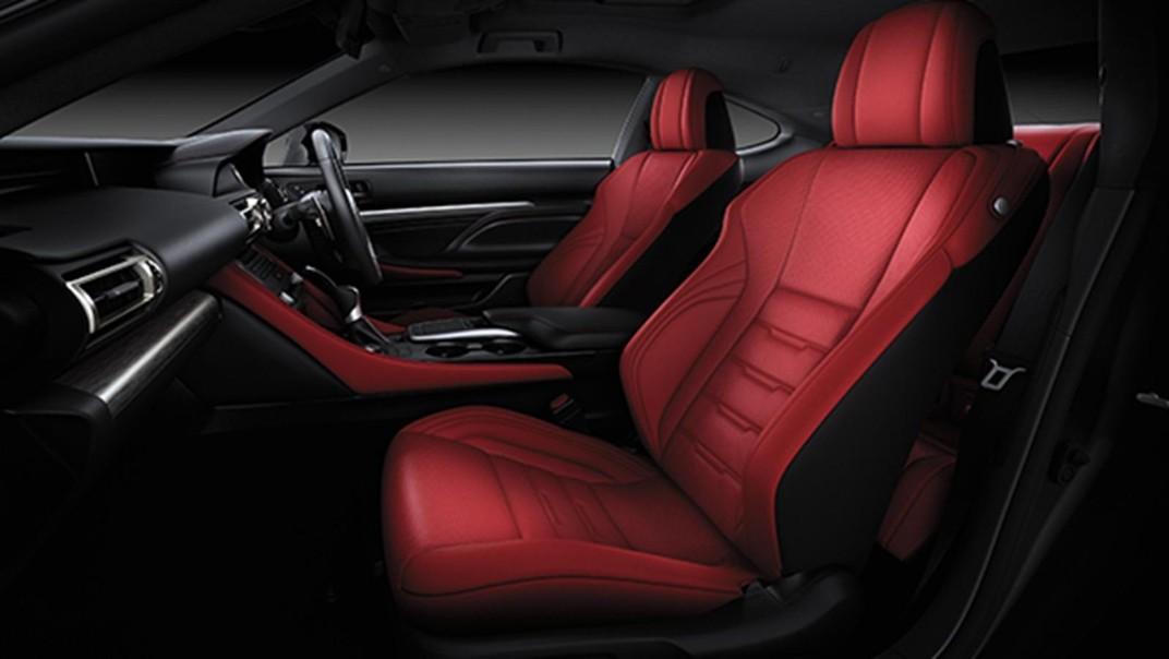 Lexus RC 2020 Interior 002