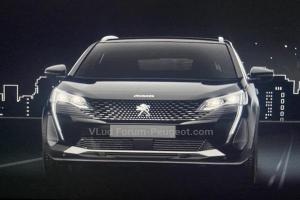 2021 Peugeot 3008 Minorchange จะเปิดตัวออนไลน์ 1 กันยายนนี้