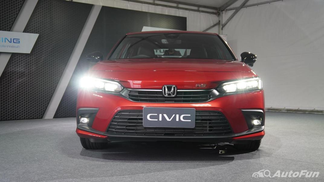 2022 Honda Civic RS Exterior 058