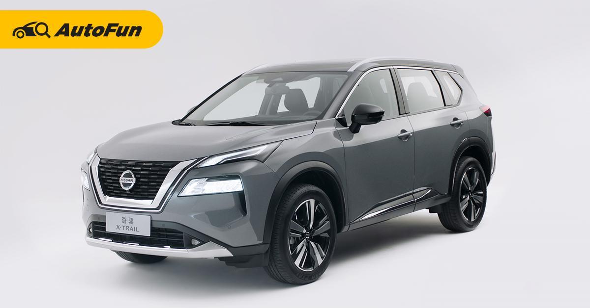 ยลโฉม 2021 Nissan X-Trail น่าเสียดายแค่ไหนที่คนไทยไม่ได้ใช้? 01