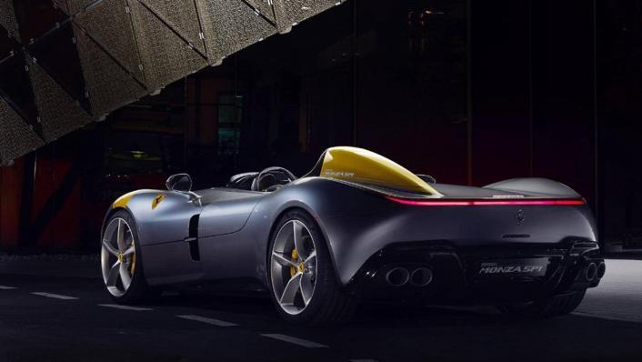 2020 Ferrari Monza SP1 V12 Exterior 001