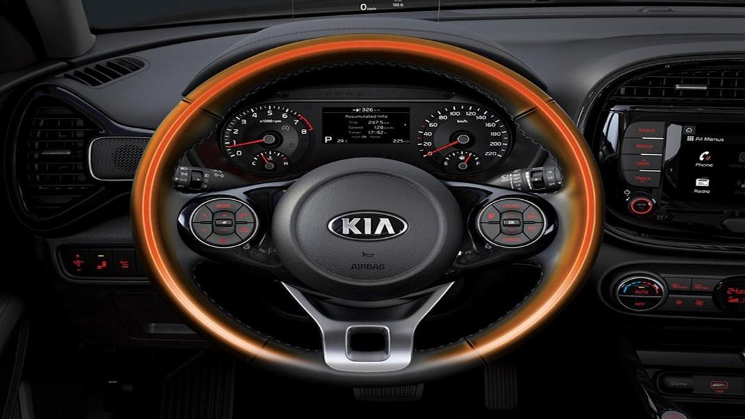 Kia Soul EV 2020 Interior 006