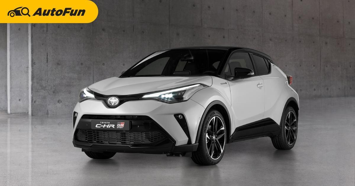 Toyota C-HR เปิดตัวชุดแต่งใหม่ Gr Sport ในอังกฤษเริ่ม 1,289,000 บาท 01