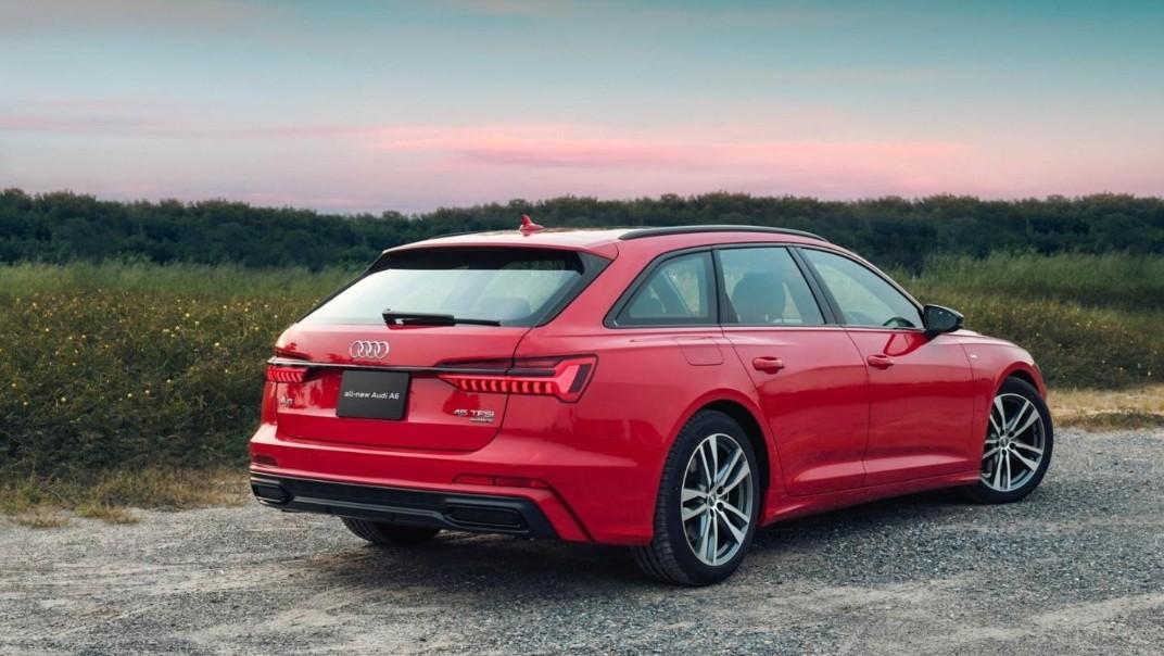 Audi A6 Avant 2020 Exterior 006