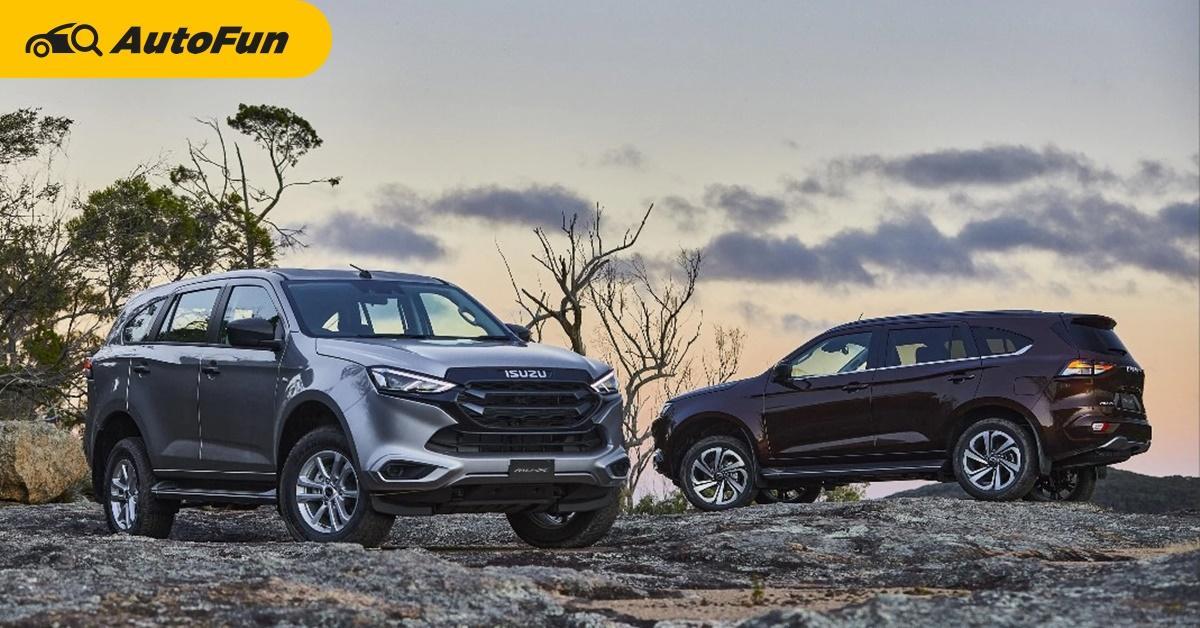 Isuzu รับซุ่มพัฒนาไฮบริด-อีวีให้ D-Max และ MU-X อัพสมรรถนะเครื่องยนต์ชน Ford Everest และ Toyota Fortuner 01