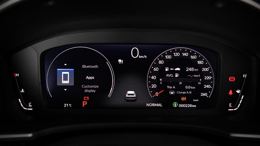 2022 Honda Civic RS Interior 032