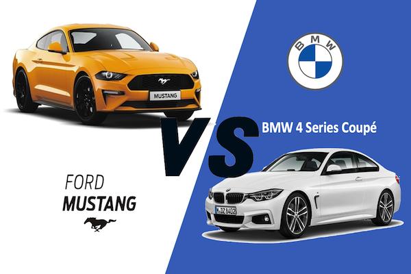FORD MUSTANG 2.3L EcoBoost VS BMW 4 Series 430I COUPE คันไหนใช่ตัวคุณ
