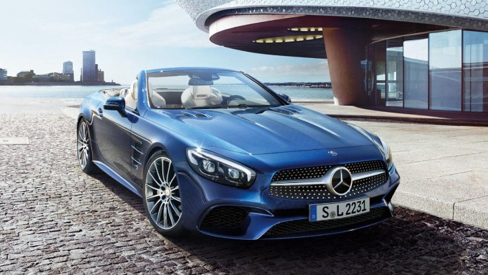 Mercedes-Benz Sl Roadster 2020 Exterior 001