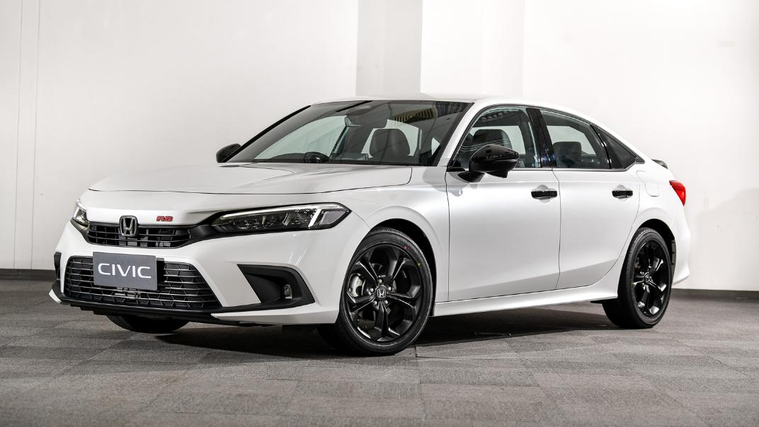 2022 Honda Civic RS Exterior 001