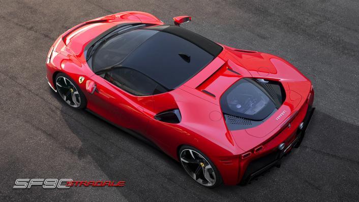 2020 4.0 Ferrari SF90 Stradale V8 Exterior 004