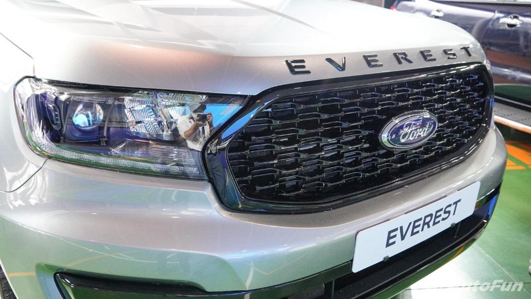 2021 Ford Everest Titanium+ Exterior 011