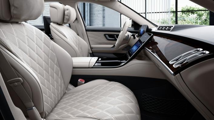 2021 Mercedes-Benz S-Class S 350 d Exclusive Interior 003