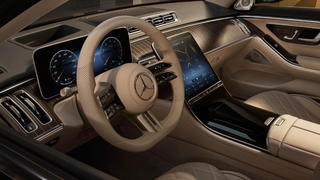 2021 Mercedes-Benz S-Class Interior 008