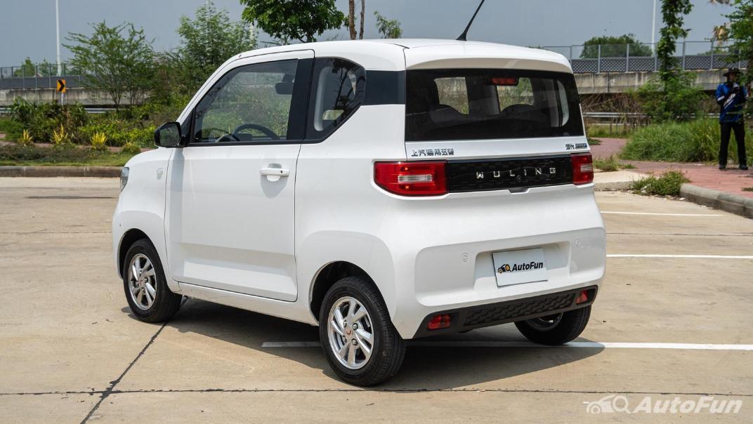 2020 Wuling Mini EV Exterior 007