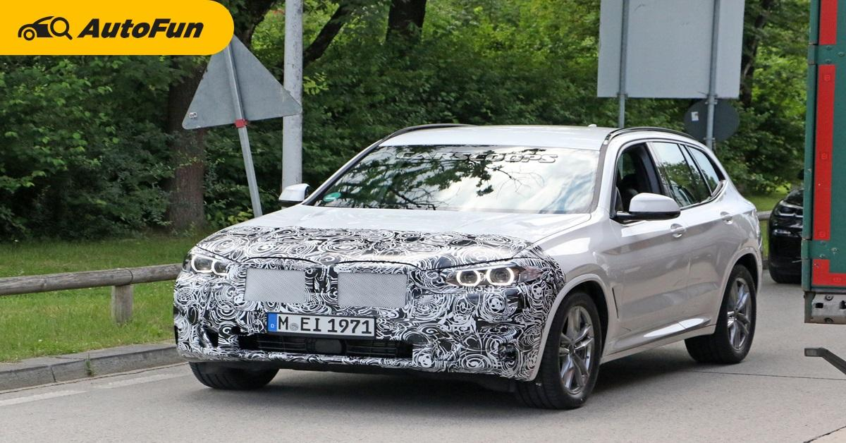Spy Shot: All-New 2020 BMW X3 ถูกจับภาพได้ก่อนขณะส่งทดสอบ 01