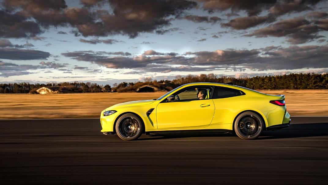 2021 BMW M4 Coupe Competition Exterior 023