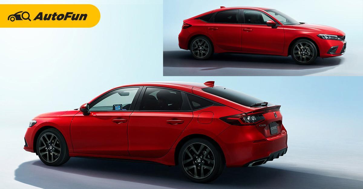 2022 Honda Civic Hatchback เผยโฉมแล้ว ใครบอกรุ่นเก่าสวยกว่าขอให้คิดใหม่ 01