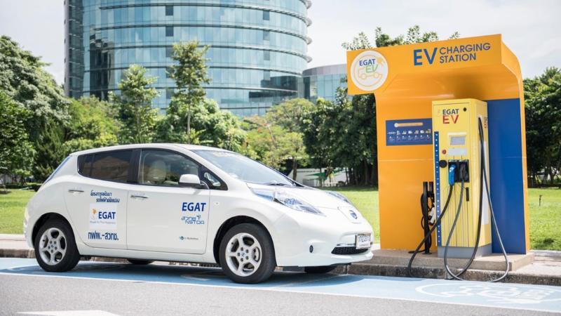 EGAT ทุ่มงบประมาณ 90 ล้านบาท เพิ่มสถานีชาร์จไฟรถยนต์ 35 แห่งในปีนี้ 02
