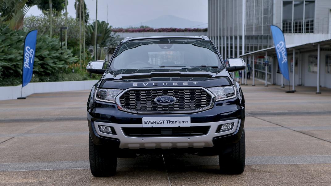 2021 Ford Everest Titanium+ Exterior 002