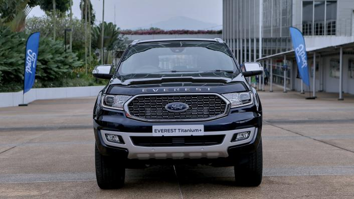 2021 Ford Everest Titanium+ Exterior 002